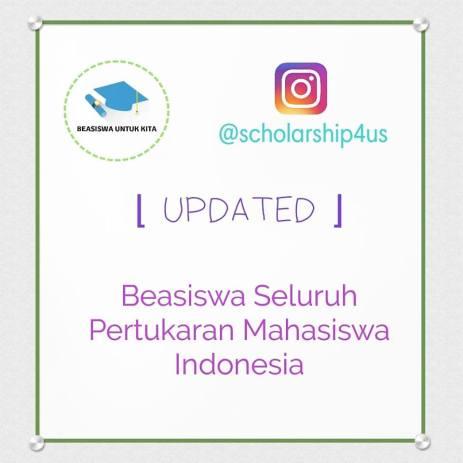 Beasiswa Pertukaran Mahasiswa Indonesia